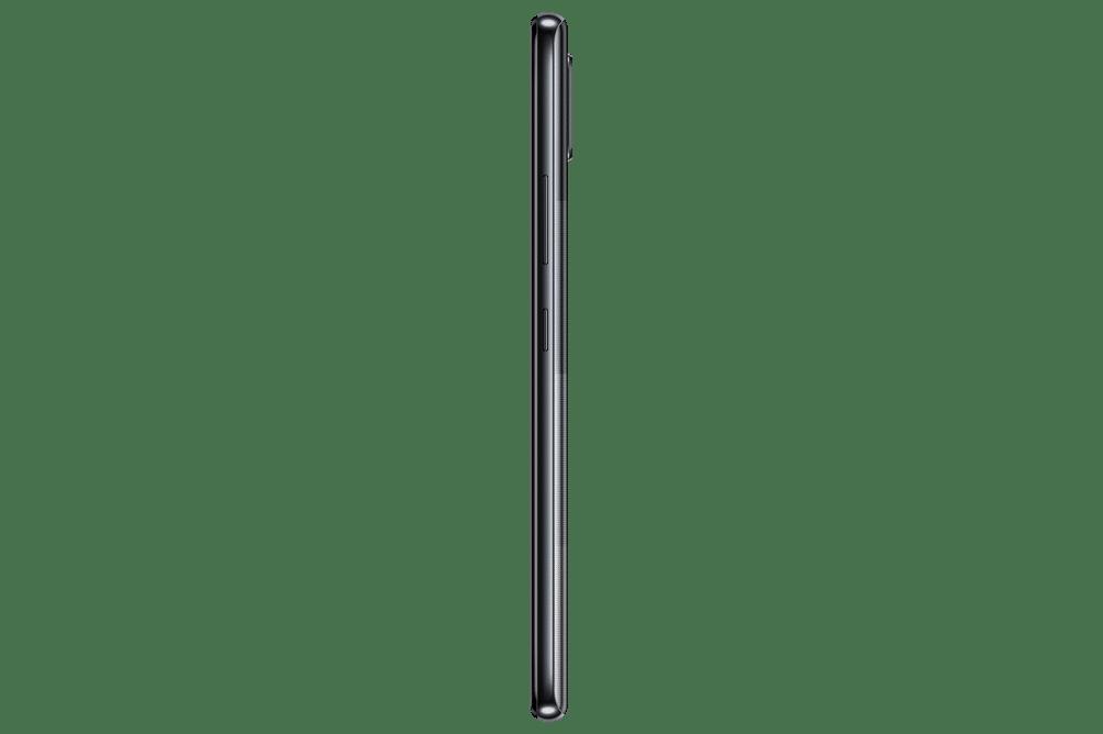 Samsung Galaxy A42 Black - Side View