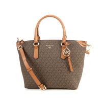 Michael Kors Elson Large Convertible Satchel - Brown
