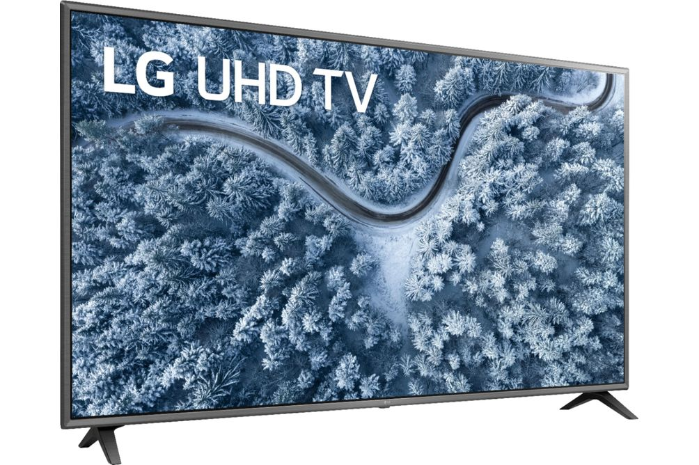LG 65 inch 4K UHD LED Smart TV 65UN6955ZUF - Side Angle View