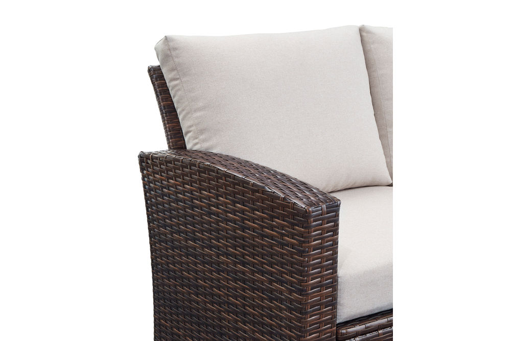 Signature Design by Ashley East Brook 4-Piece Outdoor Furniture Set - Alternate View