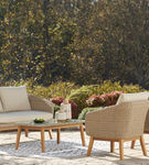 Signature Design by Ashely Crystal Cave 4-Piece Outdoor Furniture Set - Alternate Image