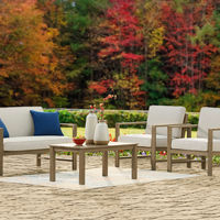 Signature Design by Ashley Fynnegan 4-Piece Outdoor Furniture Set - Outdoor View