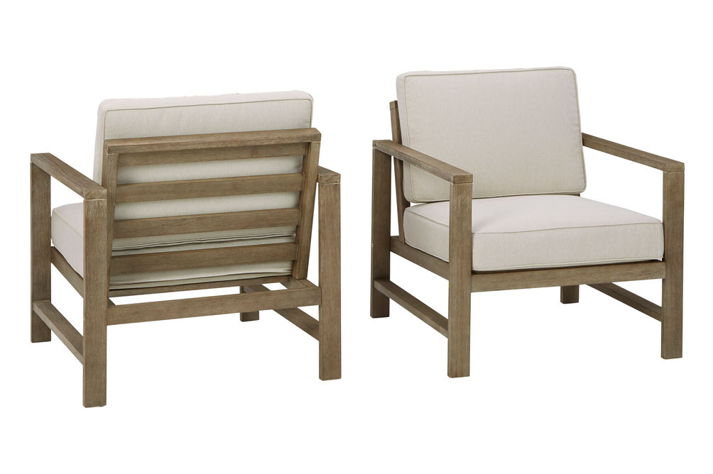 Signature Design by Ashley Fynnegan Chairs - Front and Back View
