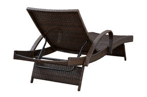 Signature Design by Ashley Kantana Outdoor Chaise Lounge Set of 2 - Back View