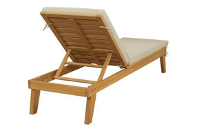 Signature Design by Ashley Byron Bay Outdoor Chaise Lounge Set of 2 - Back View