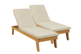Signature Design by Ashley Byron Bay Outdoor Chaise Lounge Set of 2