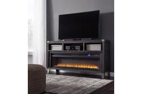 由Ashley Todoe签名设计的65英寸电壁炉电视支架
