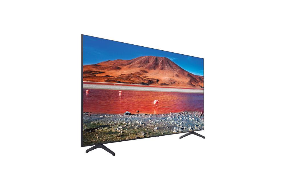 Samsung 60 inch Crystal UHD 4K Smart TV UN60TU7000FXZA - Side Angle