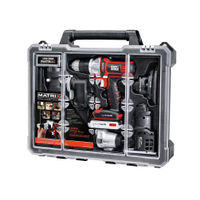 Black and Decker MATRIX 20V MAX 6-Tool Combo Kit with Storage Case