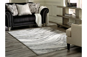 Signature Design by Ashley Wysdale Indoor Accent Rug - Sample Room View