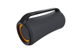 Sony X-Series MEGA BASS Portable Bluetooth Wireless Speaker - Side View with Light