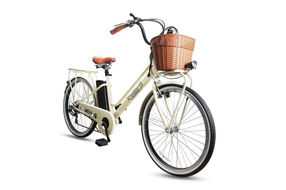 NAKTO 26 Inch City Electric Bicycle Classic - Angle View