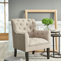 Signature Design by Ashley Drakelle- Beige Accent Chair