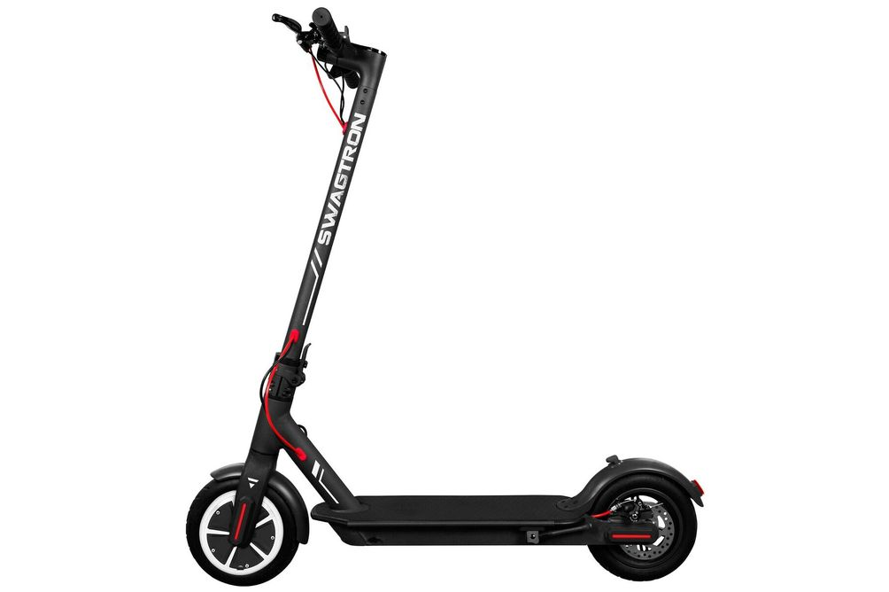 Swagtron Swagger 5 Elite Electric Smart Scooter - Black