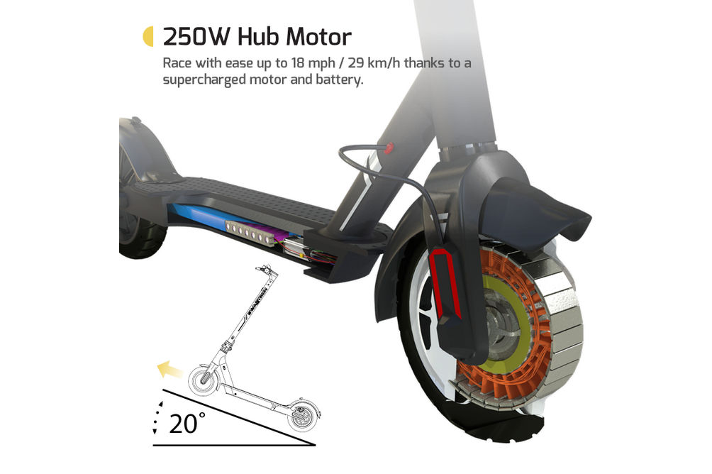 Swagtron Swagger 5 Elite Electric Smart Scooter - Specs