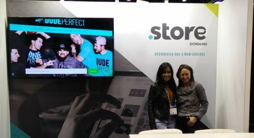Daphne and Jodi from .STORE at IRCE 2017