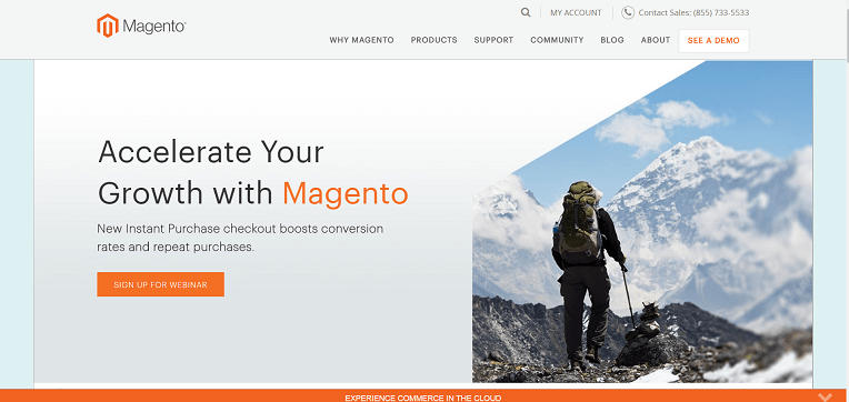 eCommerce hosting - Magento