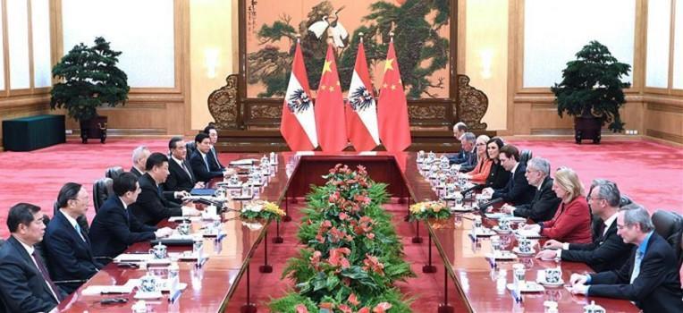 3. China Austria