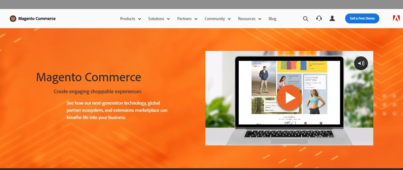 magento for ecommerce store