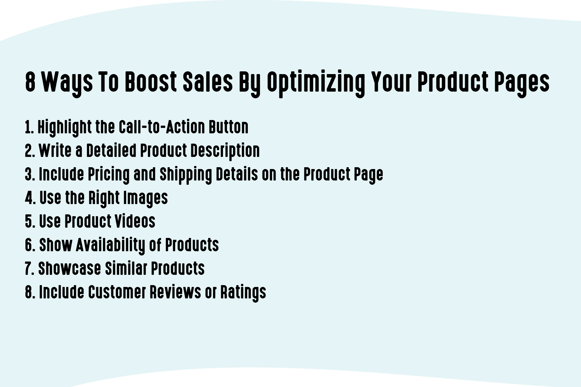 8 Ways To Boost Sales by Optimizing Your Product Pages (1)