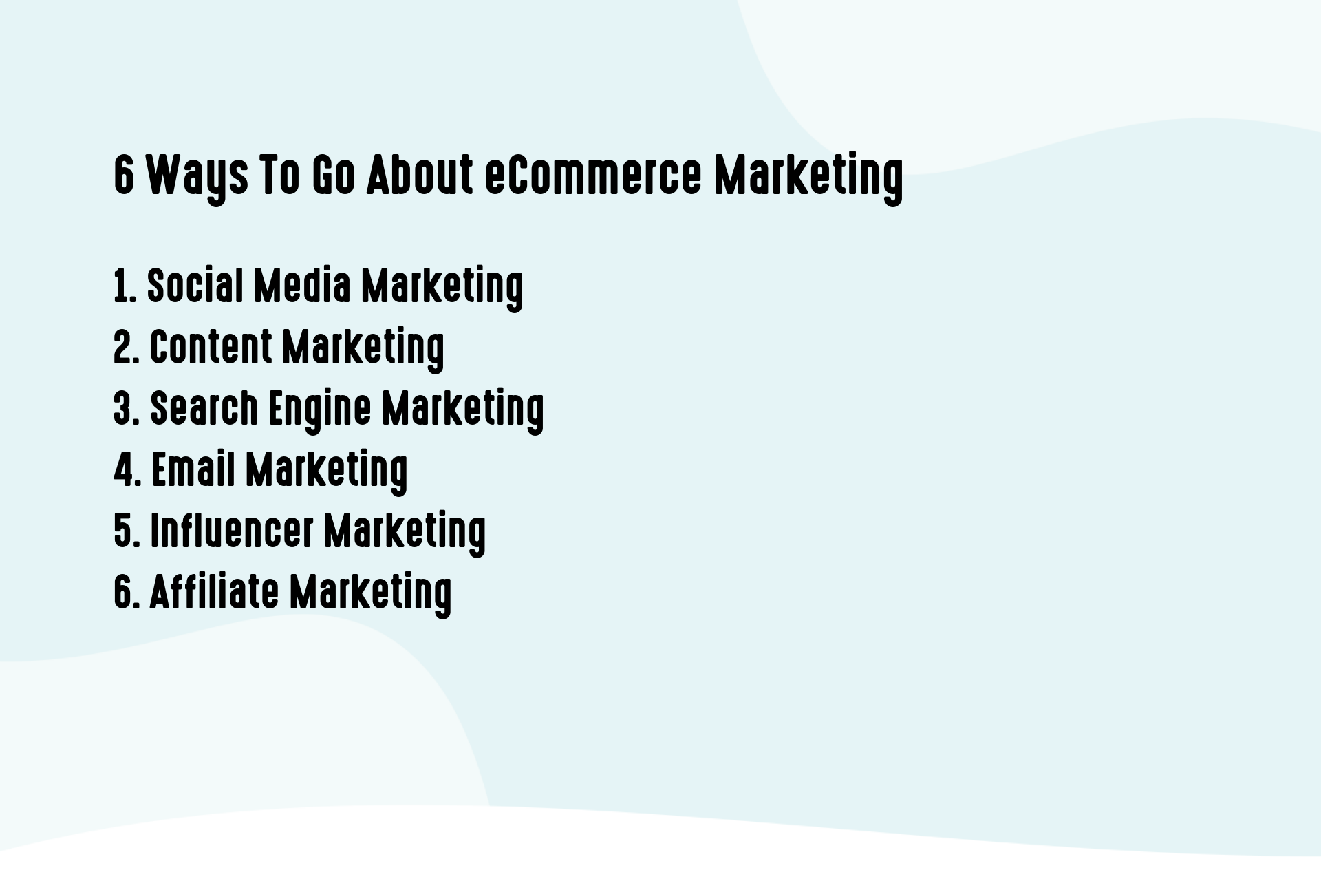 How To Go About eCommerce Marketing