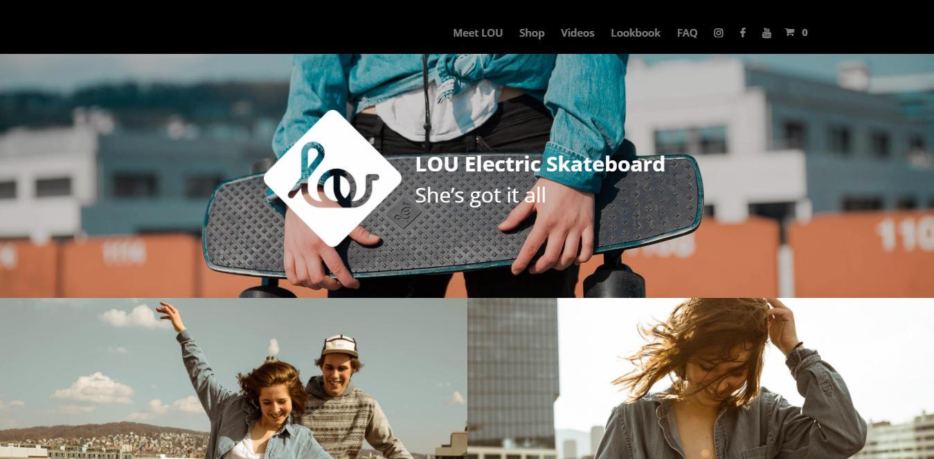lou skateboard