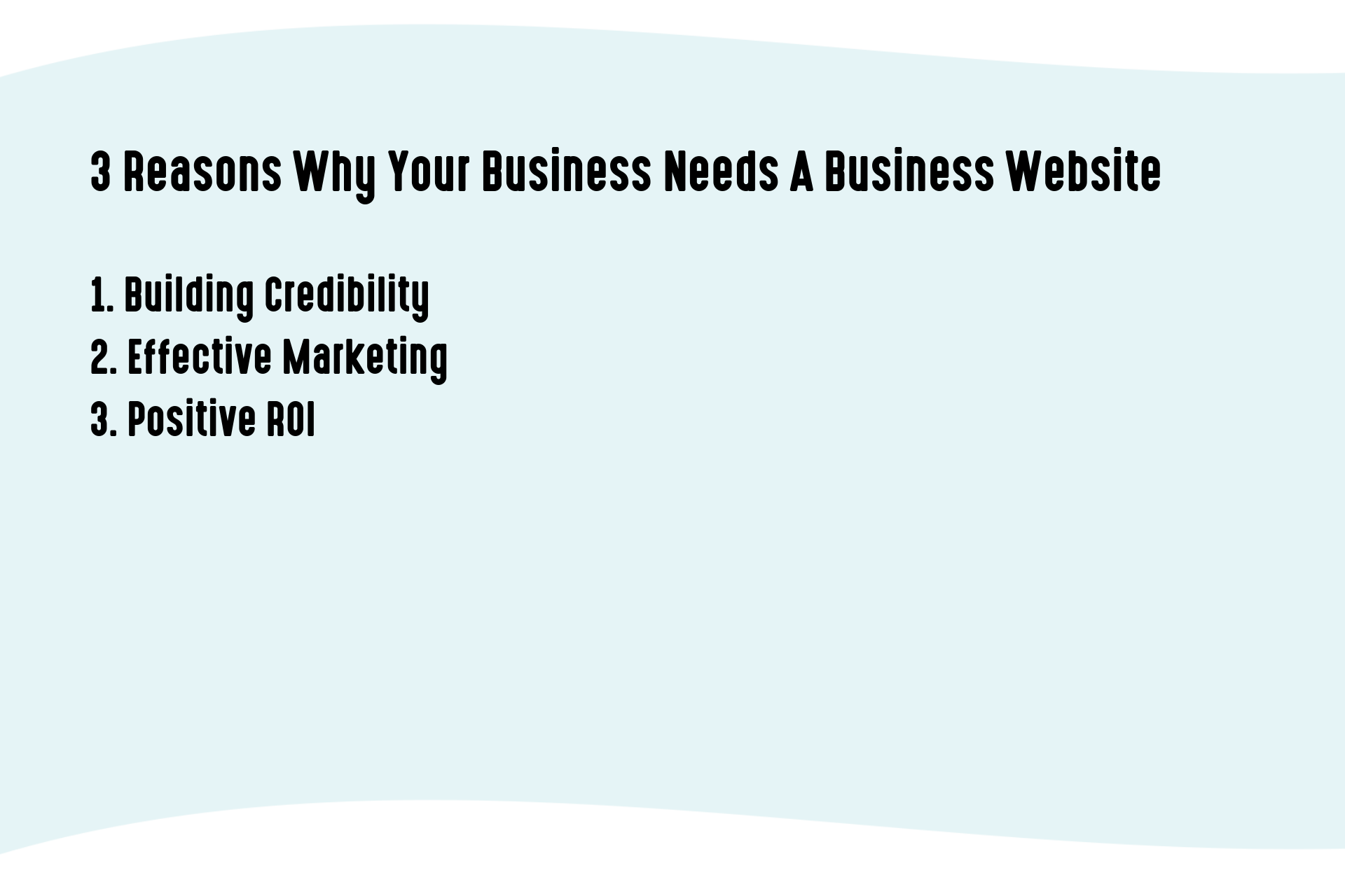 3 Reasons Why Your Business Needs A Business Website