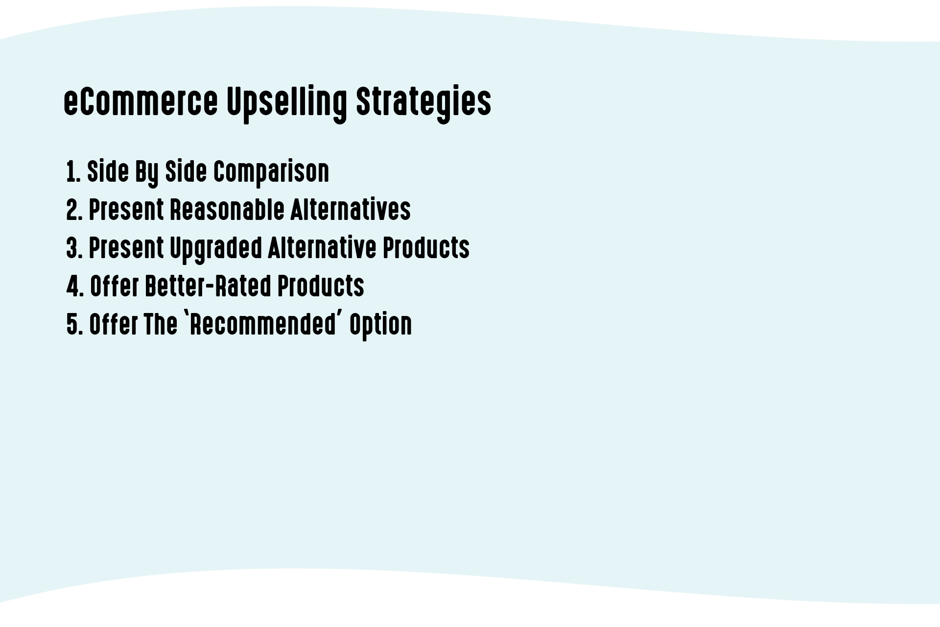 eCommerce Upselling Strategies
