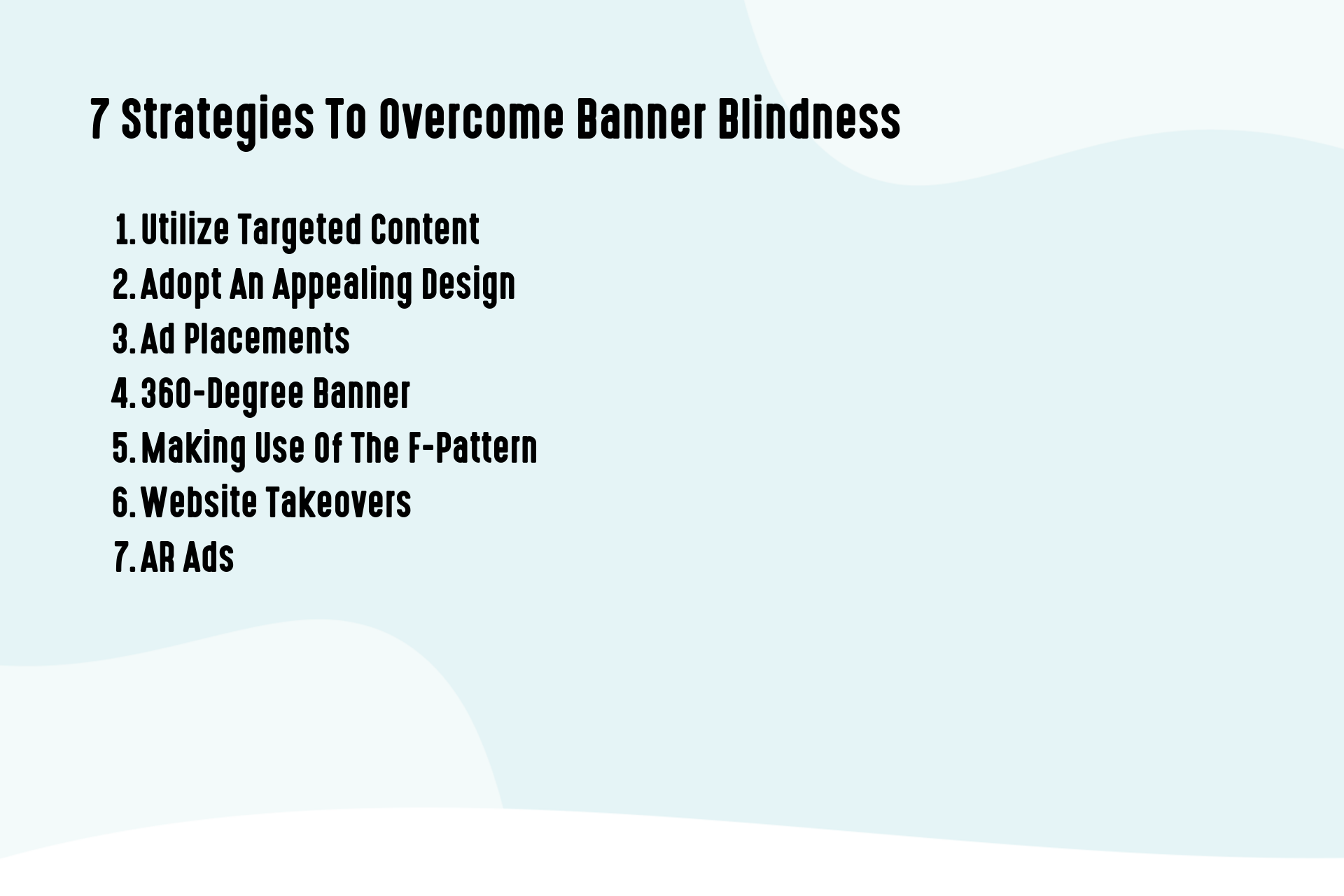 7 Strategies To Overcome Banner Blindness