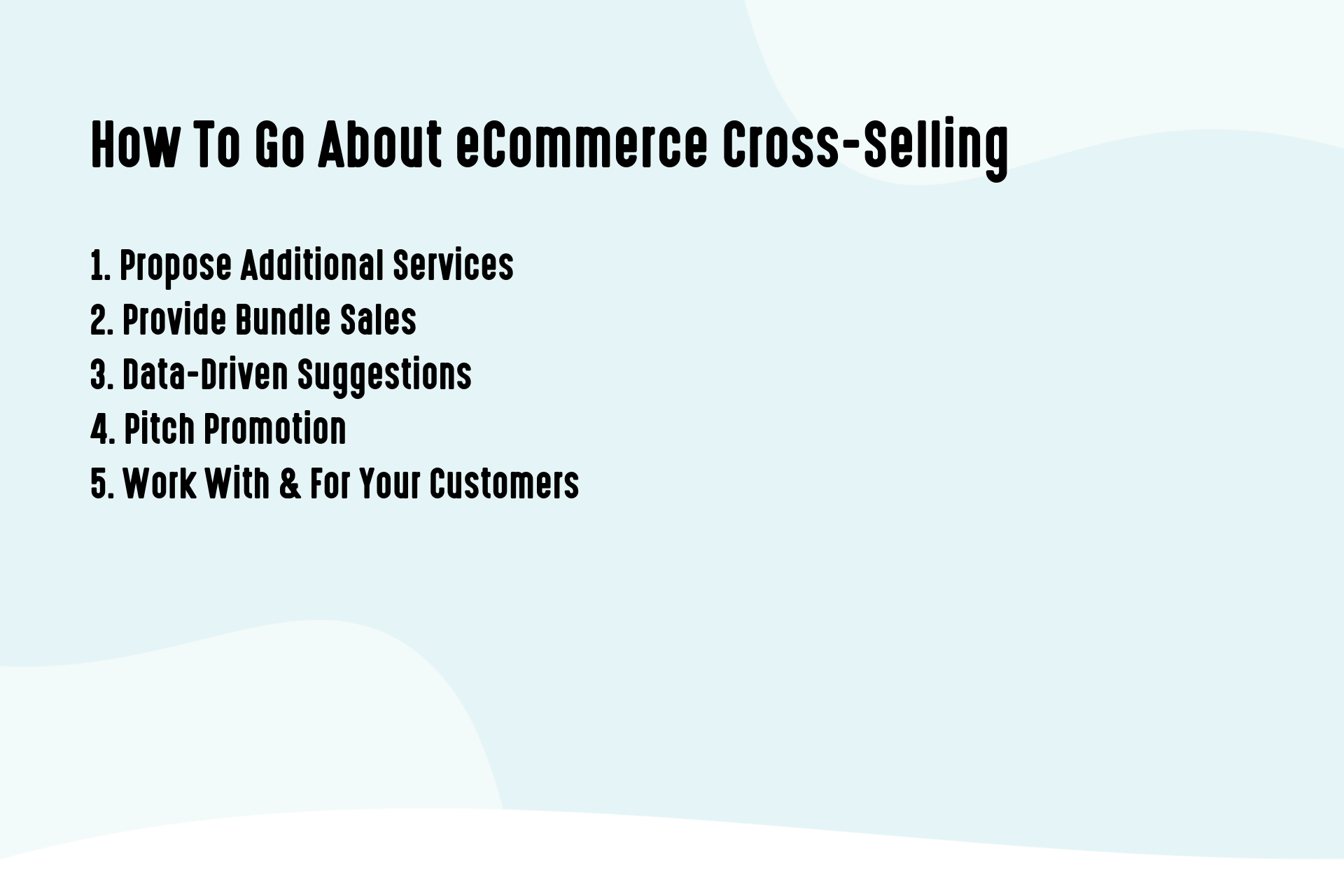How To Go About eCommerce Cross-Selling