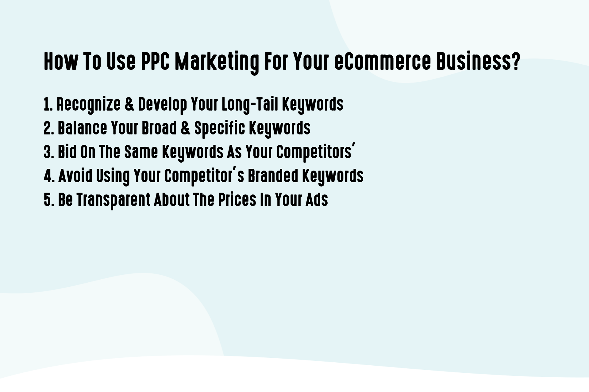 How To Use PPC Marketing For Your eCommerce Business_