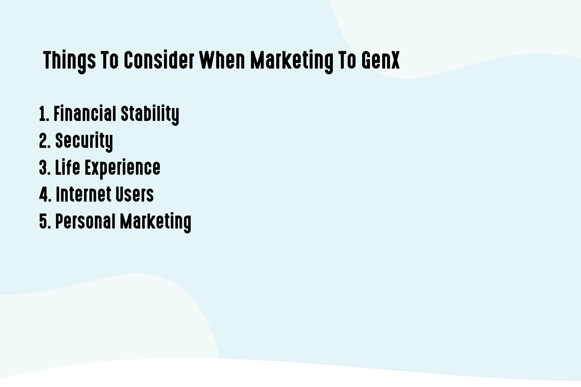 Things to consider when marketing to GenX