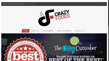 Live Site - crazyfoods.online