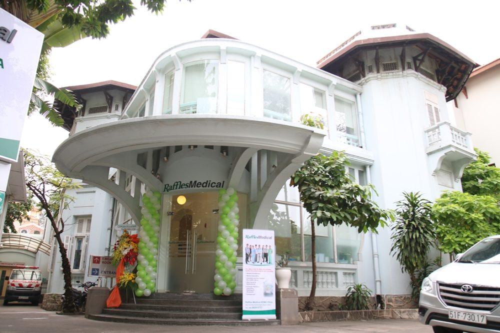 RafflesMedical Vietnam rebranding
