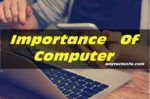 importance of computer