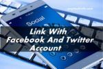 link with fb to twitter