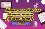 know wordpress theme name In Hindi