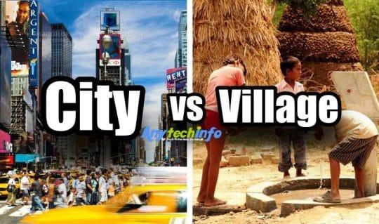 City Vs Village