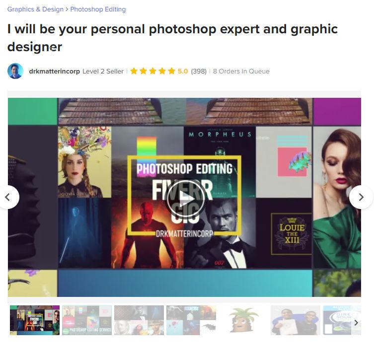 virtual assistant graphic design service