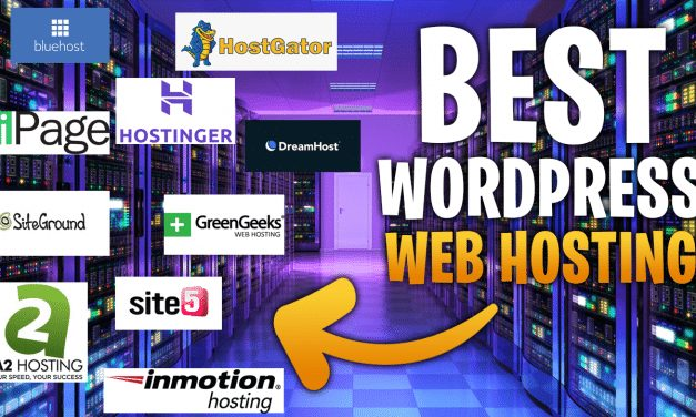 4 Best Web Hosting Services For WordPress In 2021