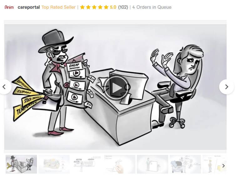 anim8 whiteboard animation service