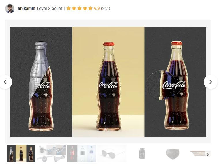 Best 3D rendering service for products