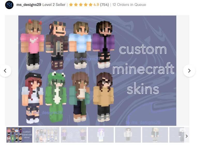 Minecraft skin designer 2
