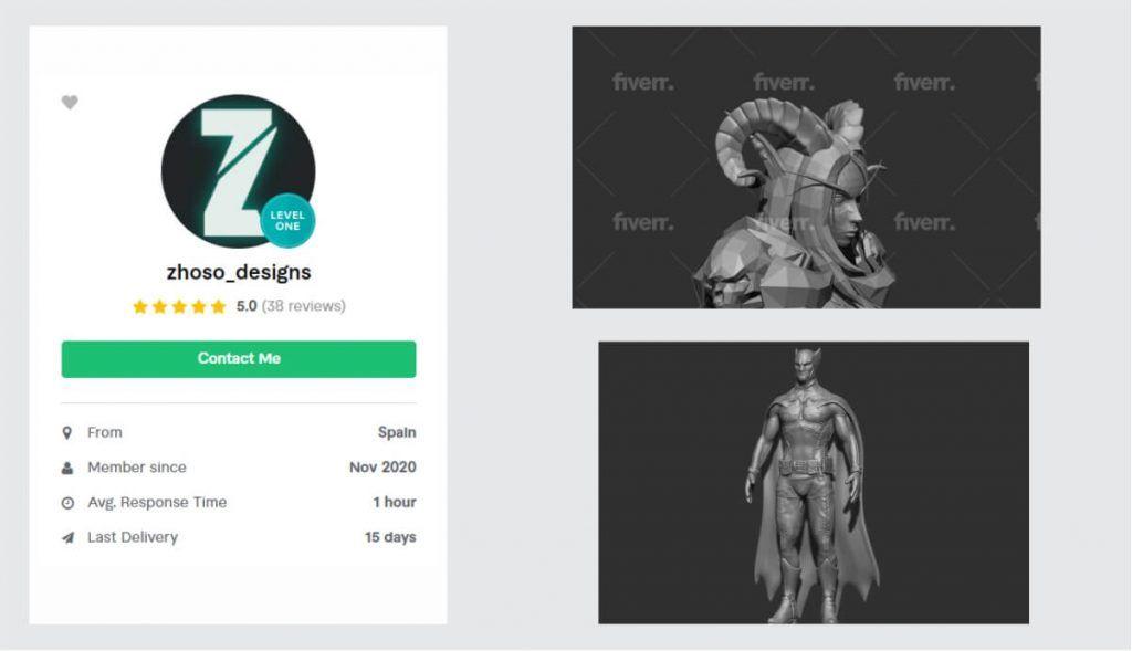 3D Modeling Commissions - 3D Prints