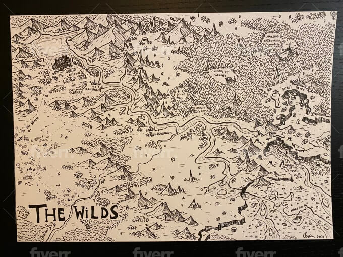 Best Places To Get Your Fantasy Map Commissions
