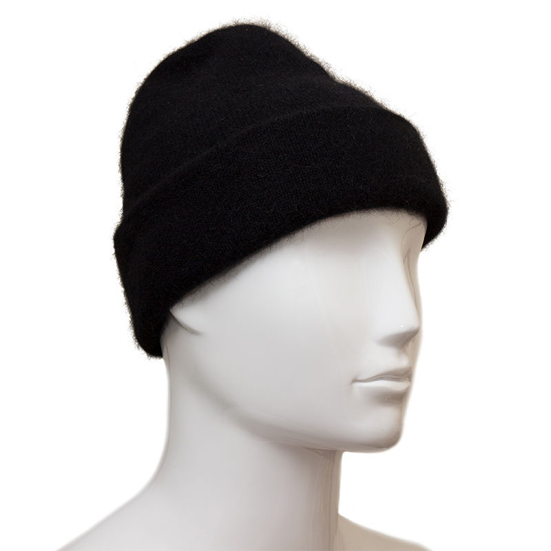 0456e1a9a3fb4 Possum Fur and Merino Wool Beanie Hat