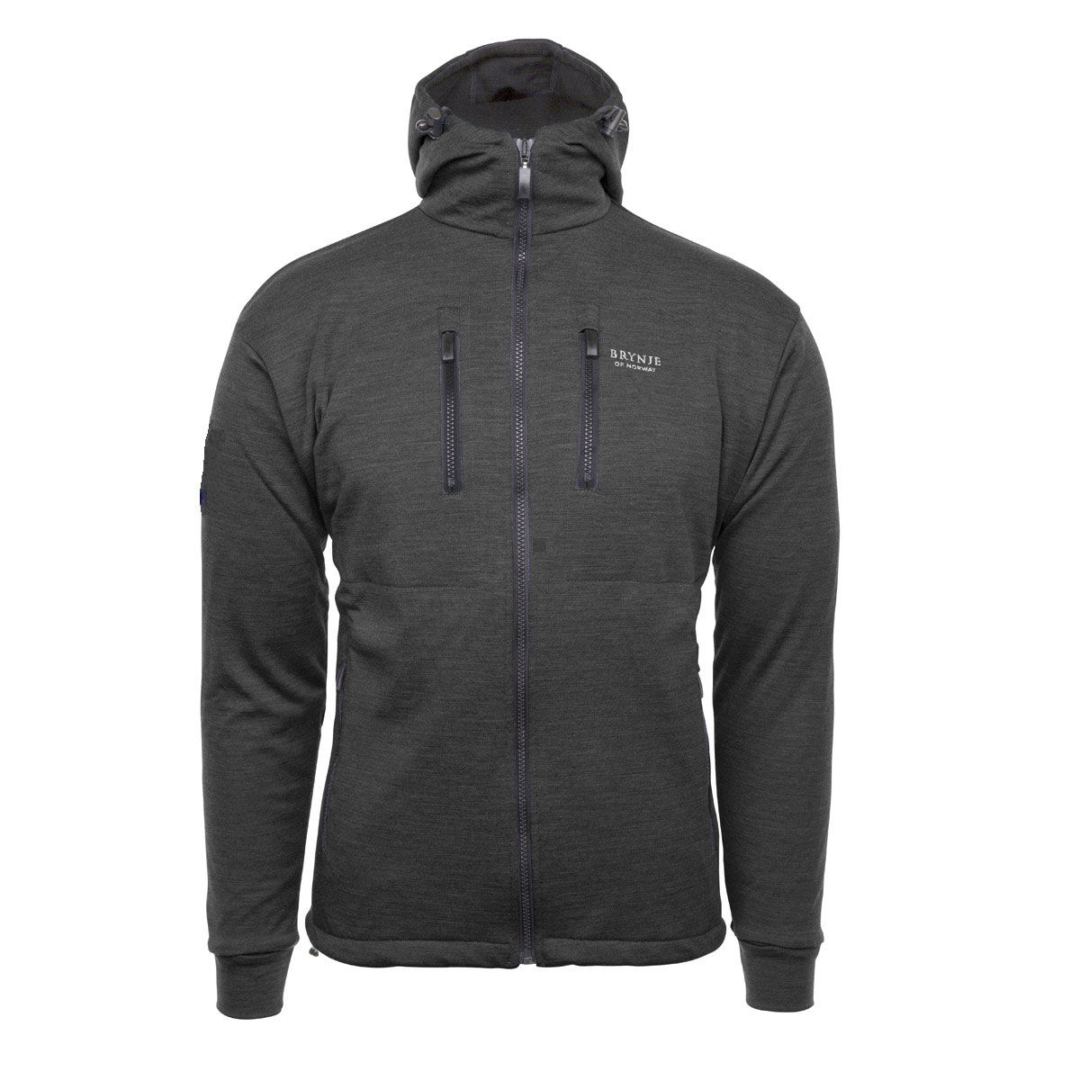 Brynje Antarctic Jacket with Hood - Charcoal