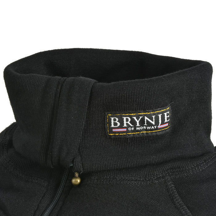 Brynje Arctic Double Zip Polo - Black