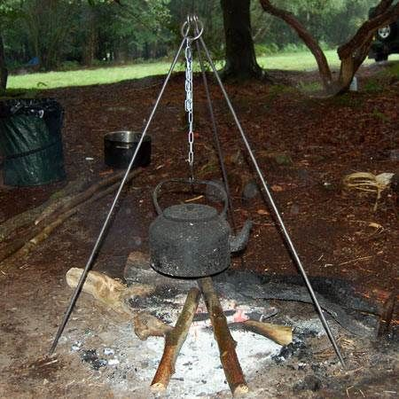 The Ray Mears Campfire Tripod