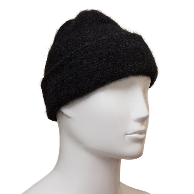 78dc2c4cd2f Possum Fur and Merino Wool Beanie Hat